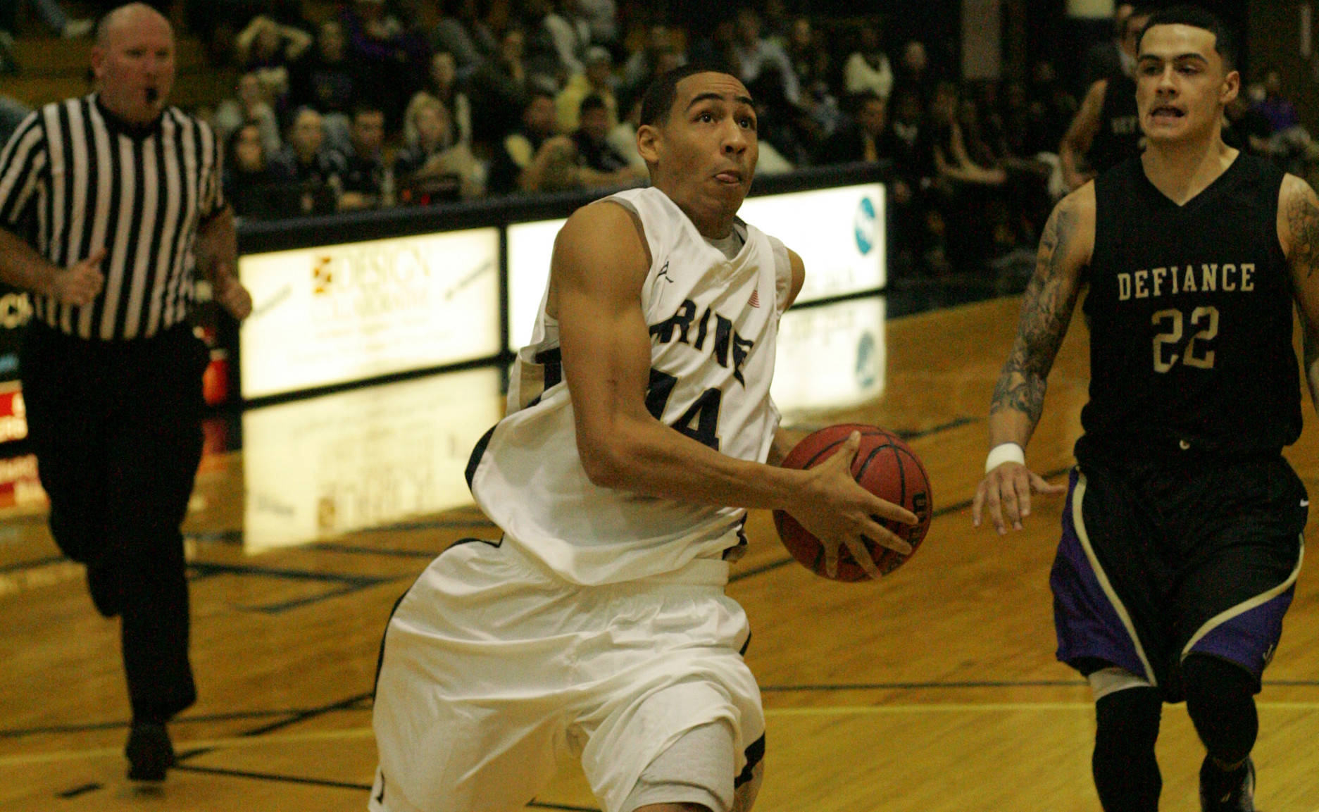 Copeland Scores 39 in Loss to Ohio Wesleyan