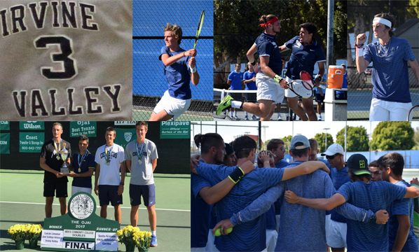 No. 3 Story of the Year - Honors galore for men's tennis team
