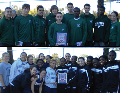 NYIT and Queens Share ECC Women's Cross Country Title; C.W. Post Crowned Men's Champions