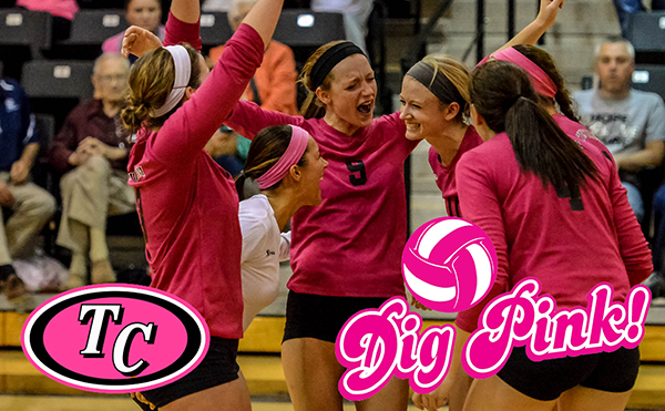 Volleyball hosts Dig Pink Night this Friday against Catawba