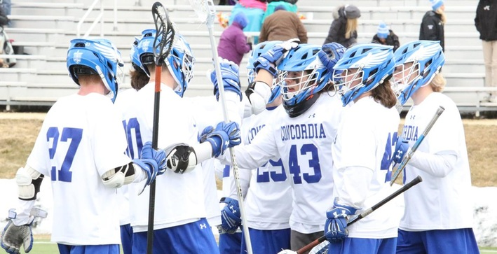 Men's Lacrosse scores in bunches during MLC victory