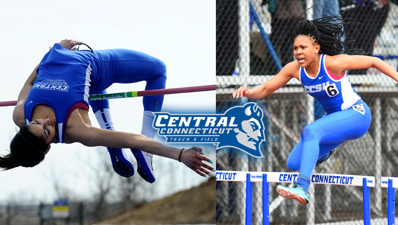 Saunders, Nesmith Claim NEC Women's Track & Field Honors