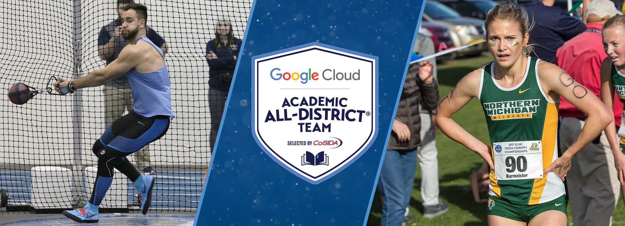 Thirteen Track & Field/Cross Country Standouts Selected CoSIDA Academic All-District