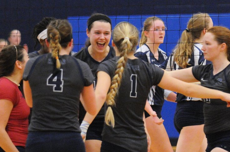 Women's Volleyball: Raiders lock up #3 seed in upcoming GNAC Tournament