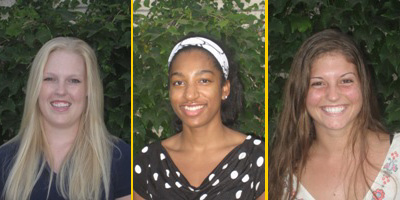 Athenas Volleyball Names 3 to All-Conference Team