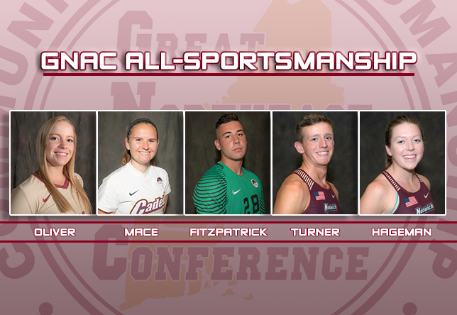 Athletics: Five Cadets make GNAC All-Sportsmanship