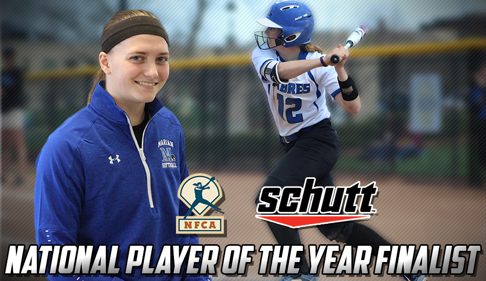Ally Fox National Player of the Year finalist graphic.