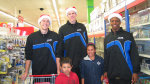 Gaucho Basketball Provides Holiday Shopping Spree for Local Kids
