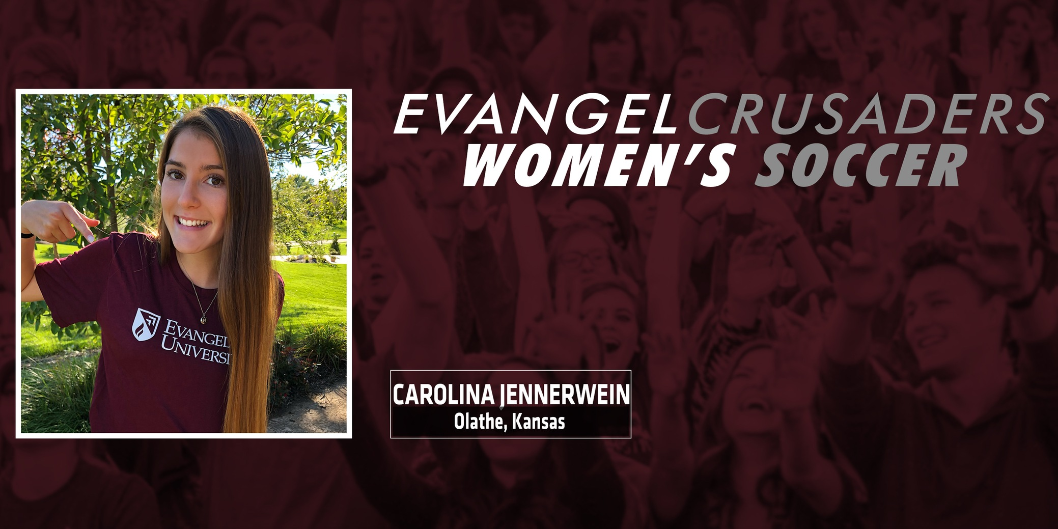Carolina Jennerwein Commits to Evangel Women's Soccer For 2019