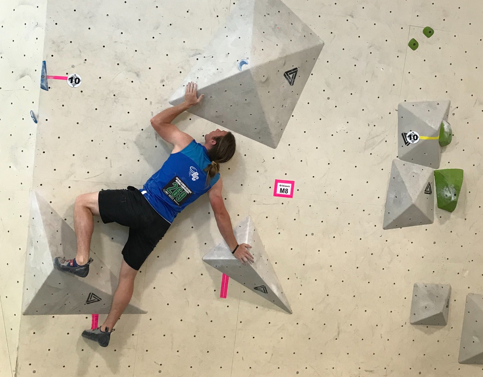 Brevard College In Action at USA Climbing National Championships