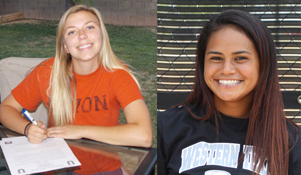 Softball Signings