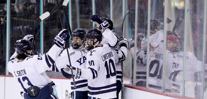 Yale finds the net five times in win over St. Lawrence