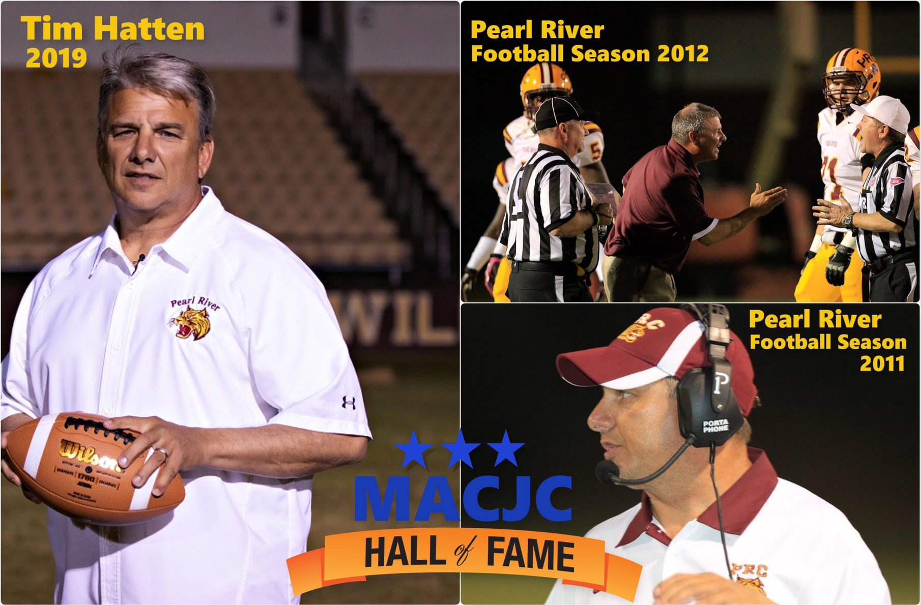 Legendary Pearl River football coach Tim Hatten set to be enshrined in MACJC Hall of Fame