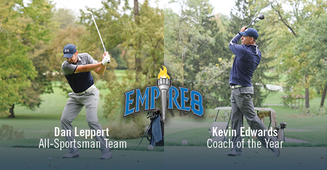 Edwards Honored as Empire 8 Coach of the Year; Leppert Named to All-Sportsman Team