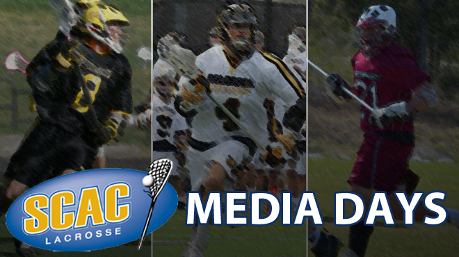 SCAC Media Days - Men's Lacrosse (All Interviews Complete)