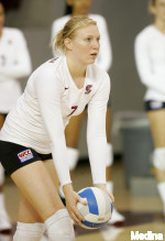 Bronco Volleyball Battles No. 22 49ers