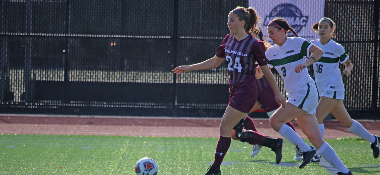 Quiles Lifts Women's Soccer Past Babson, 2-0, In NEWMAC Championship Semifinals