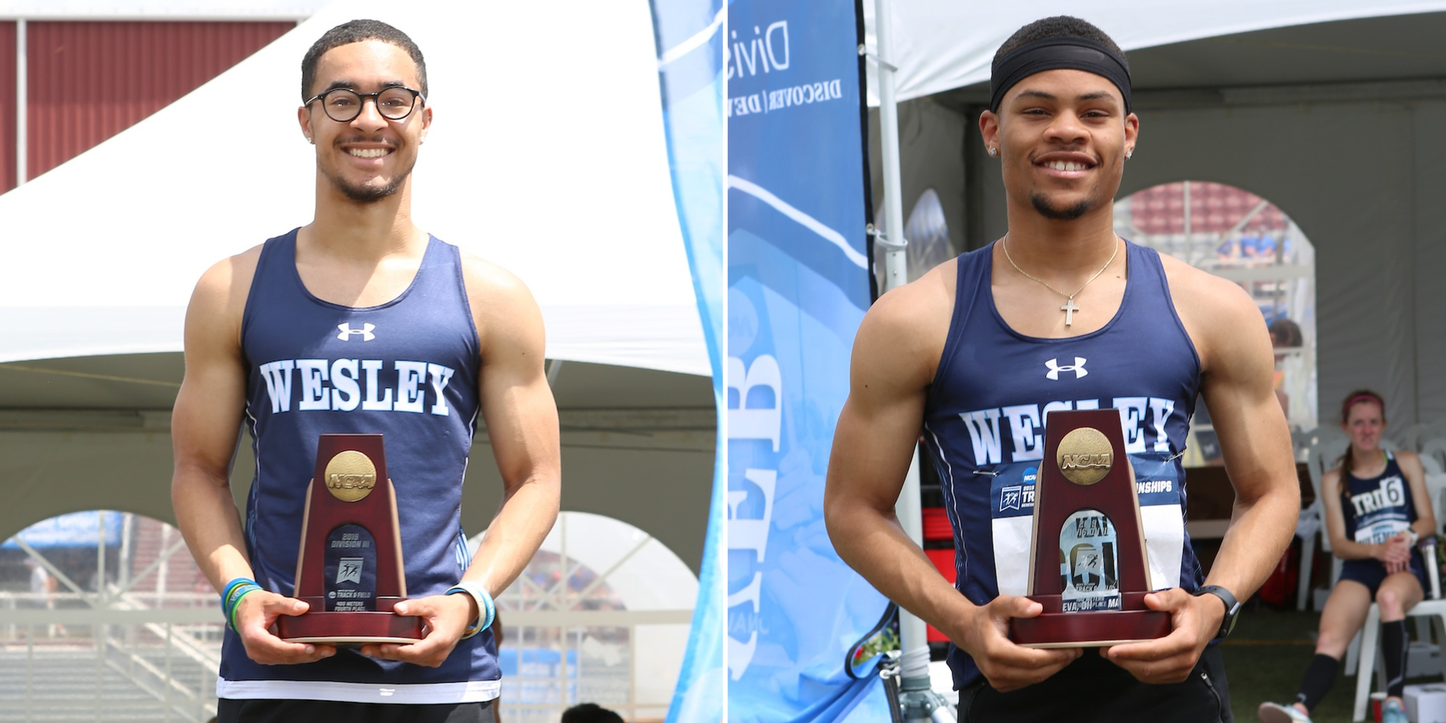 Cole, Kalieta secure All-American status at NCAA Outdoor Championships