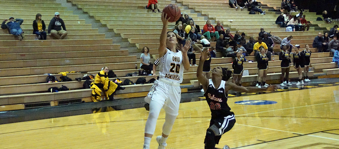 Women's Basketball Pulls Past Knights, 93-73