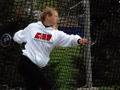 Carioto named Landmark Conference Field Athlete of the Week