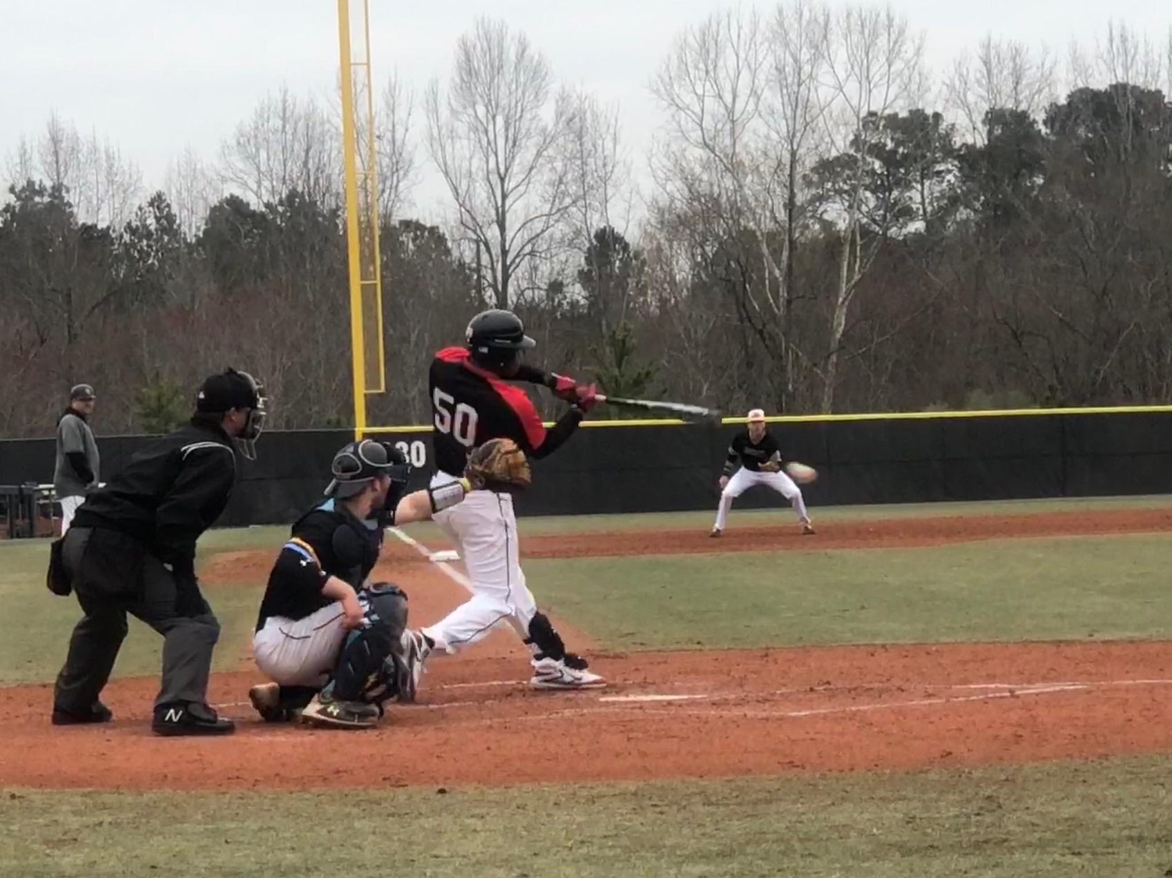 DOMINICAN SPLITS NON-CONFERENCE DOUBLE-HEADER
