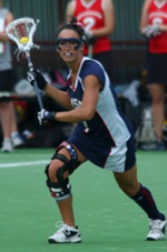 Kelly Berger is in her seventh year with the U.S. National Team.