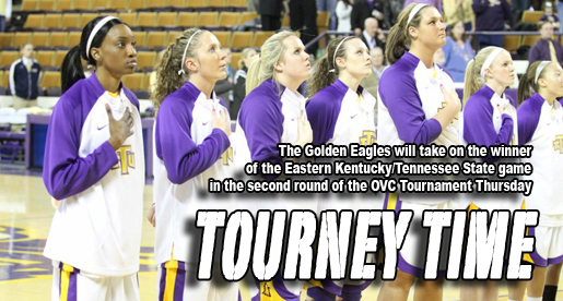 Golden Eagles await Eastern Kentucky Thursday