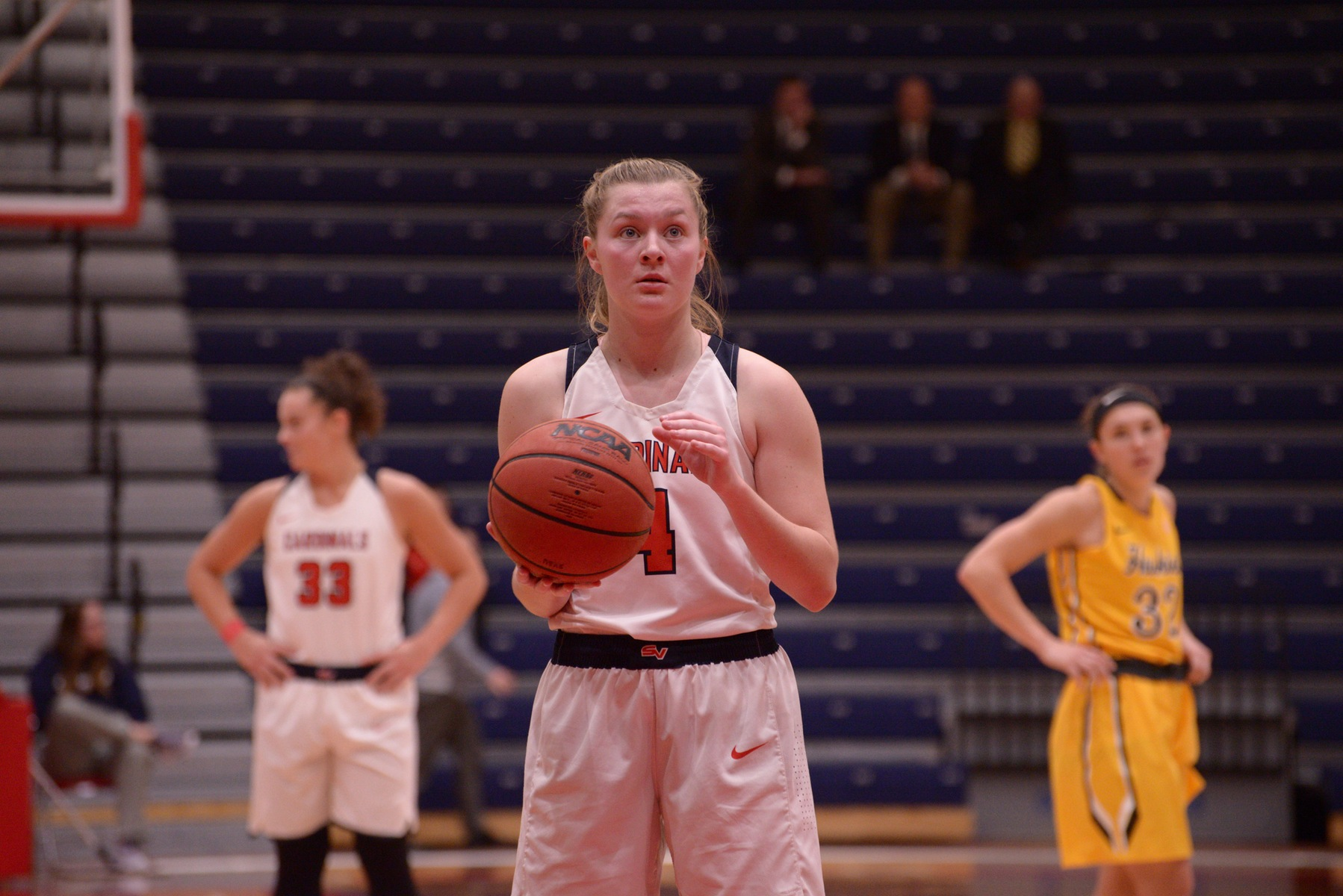 Cardinals Fall in GLIAC Home Opener to the Huskies, 68-57