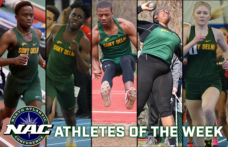 Five Broncos Take NAC's First Outdoor Weekly Accolades