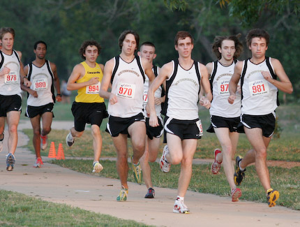 MEN'S CROSS COUNTRY REGIONALLY RANKED; STAND IN 9TH