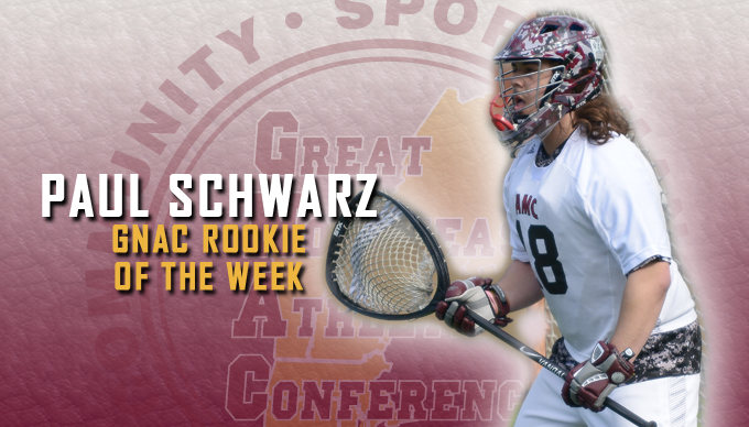Schwarz Named GNAC Men's Lacrosse Rookie of the Week