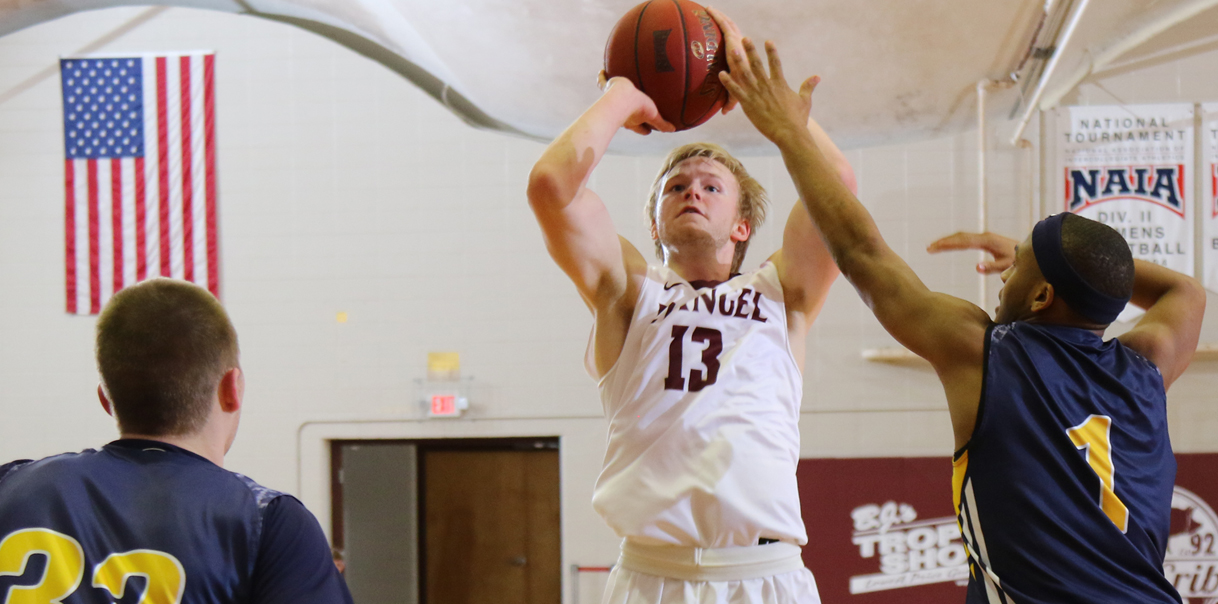 Chapman Leads Evangel Past Central Methodist in Finale