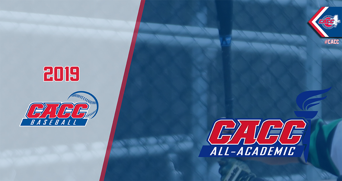 FOUR CHARGERS NAMED TO 2019 CACC BASEBALL ALL-ACADEMIC TEAM