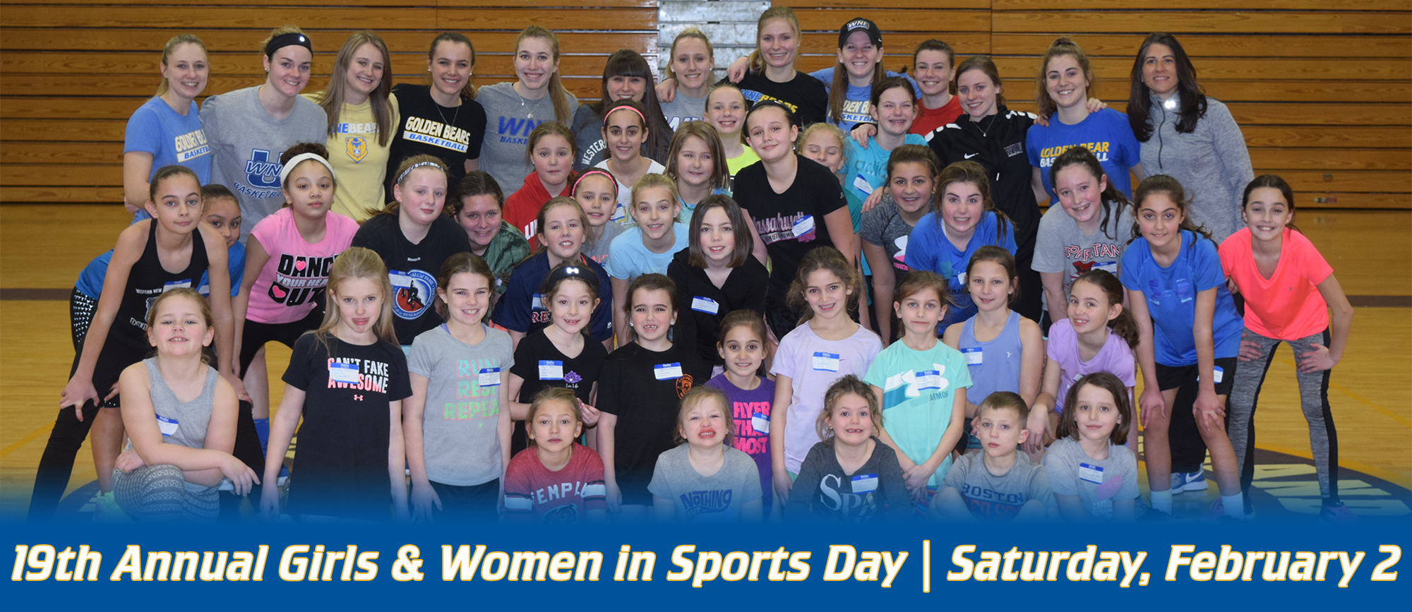 Western New England to Host 19th Annual Girls & Women in Sports Day on Saturday, February 2