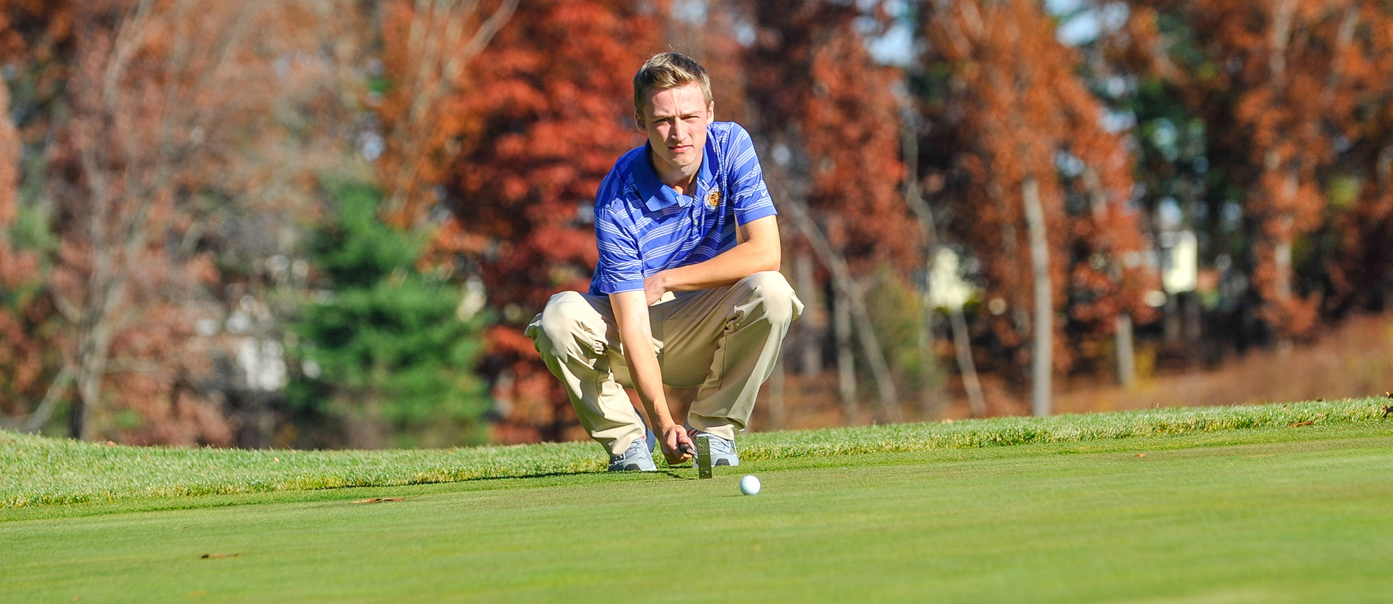 Abbott Leads Golden Bears During Round One of Williams Fall Invitational