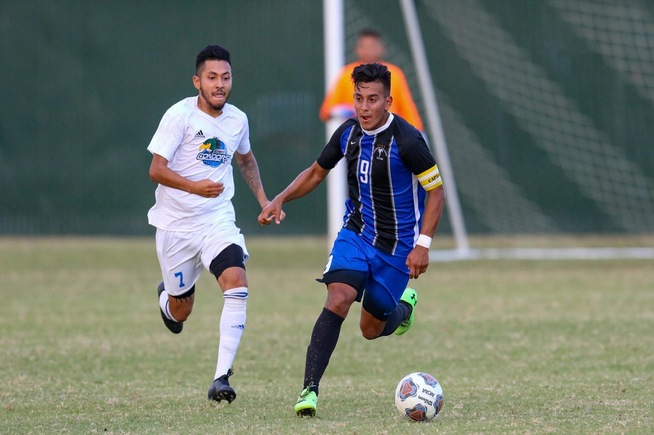 File Photo: Kevin Diaz had a goal and an assist in the Falcons win