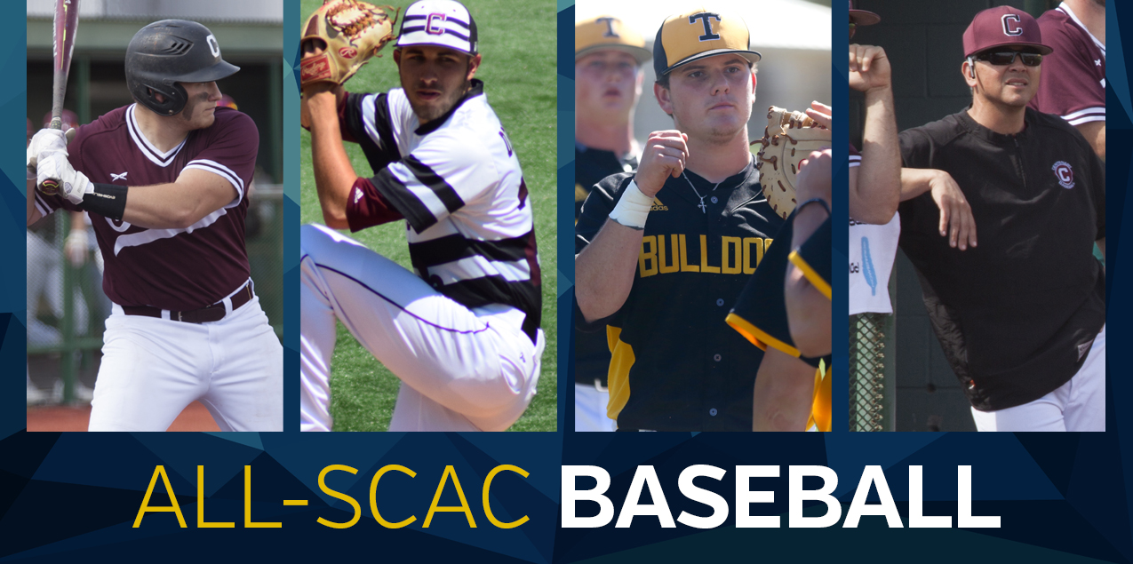 SCAC Announces 2017 All-Conference Baseball Team