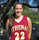 Frannie Hemmelgarn: A Key Player For Athenas Basketball
