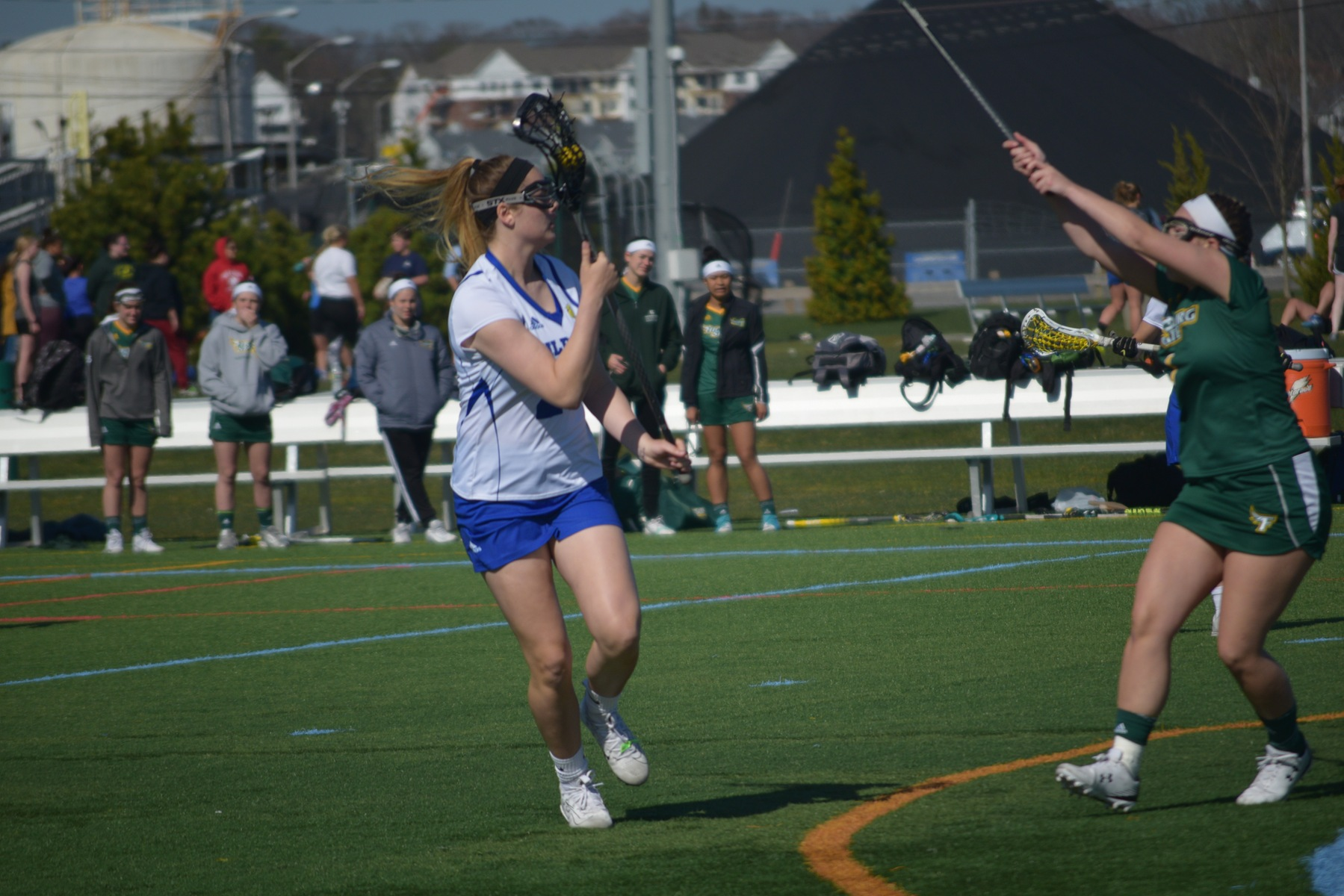 Wildcats Come up Short at RWU 14-12