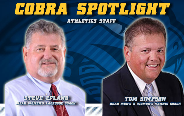 Cobra Spotlight- Steve Efland & Tom Simpson, Athletic Staff