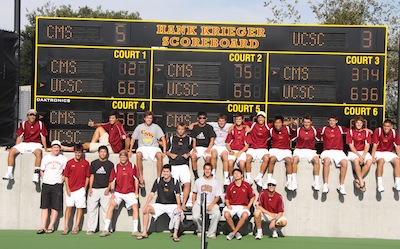 Men's Tennis Wins Regional - On to NCAA Elite 8