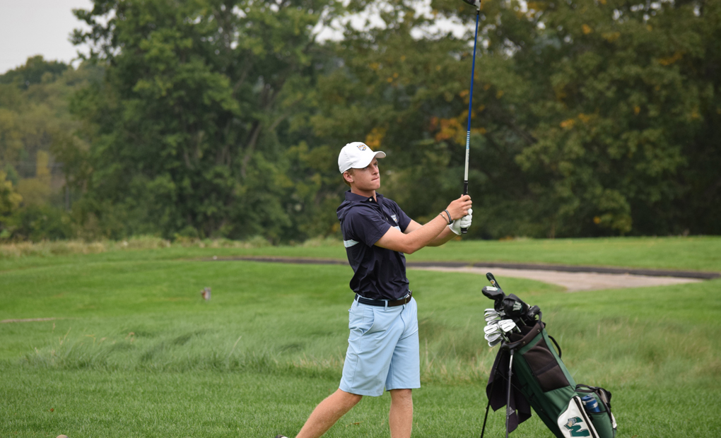 Emory Golf Tops Rochester At UAA Championships - Will Play For Title on Sunday
