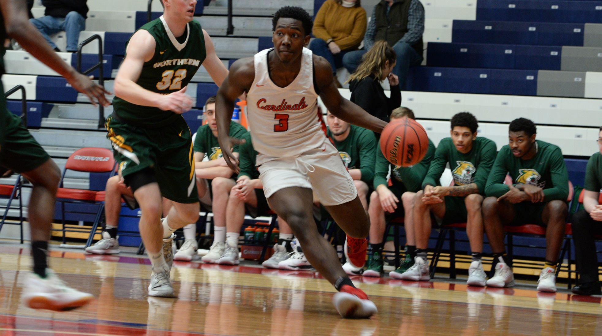 SVSU Men hold tough for 68-63 victory over Northern Michigan