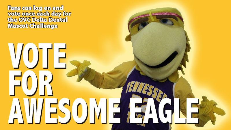 Vote Awesome Eagle for the 2014 Delta Dental of Tennessee and OVC Mascot Challenge