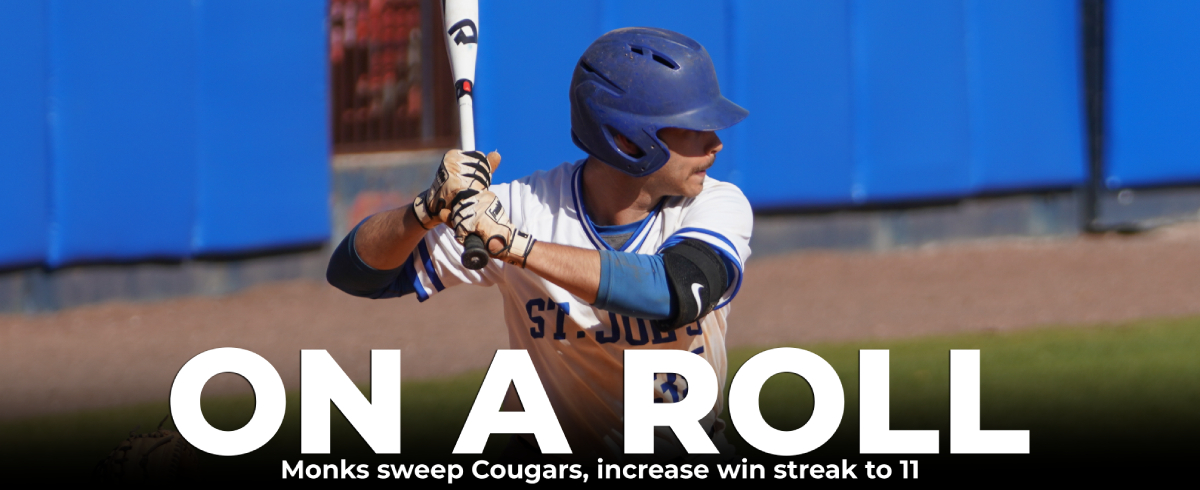 Monks Sweep Cougars, 5-4 & 12-3