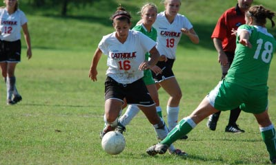 CUA Tramples Bison