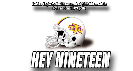 Golden Eagle football ranked 19th in both FCS national polls