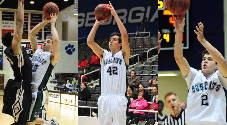 GC Men's Basketball Lands Three on PBC All-Academic Team
