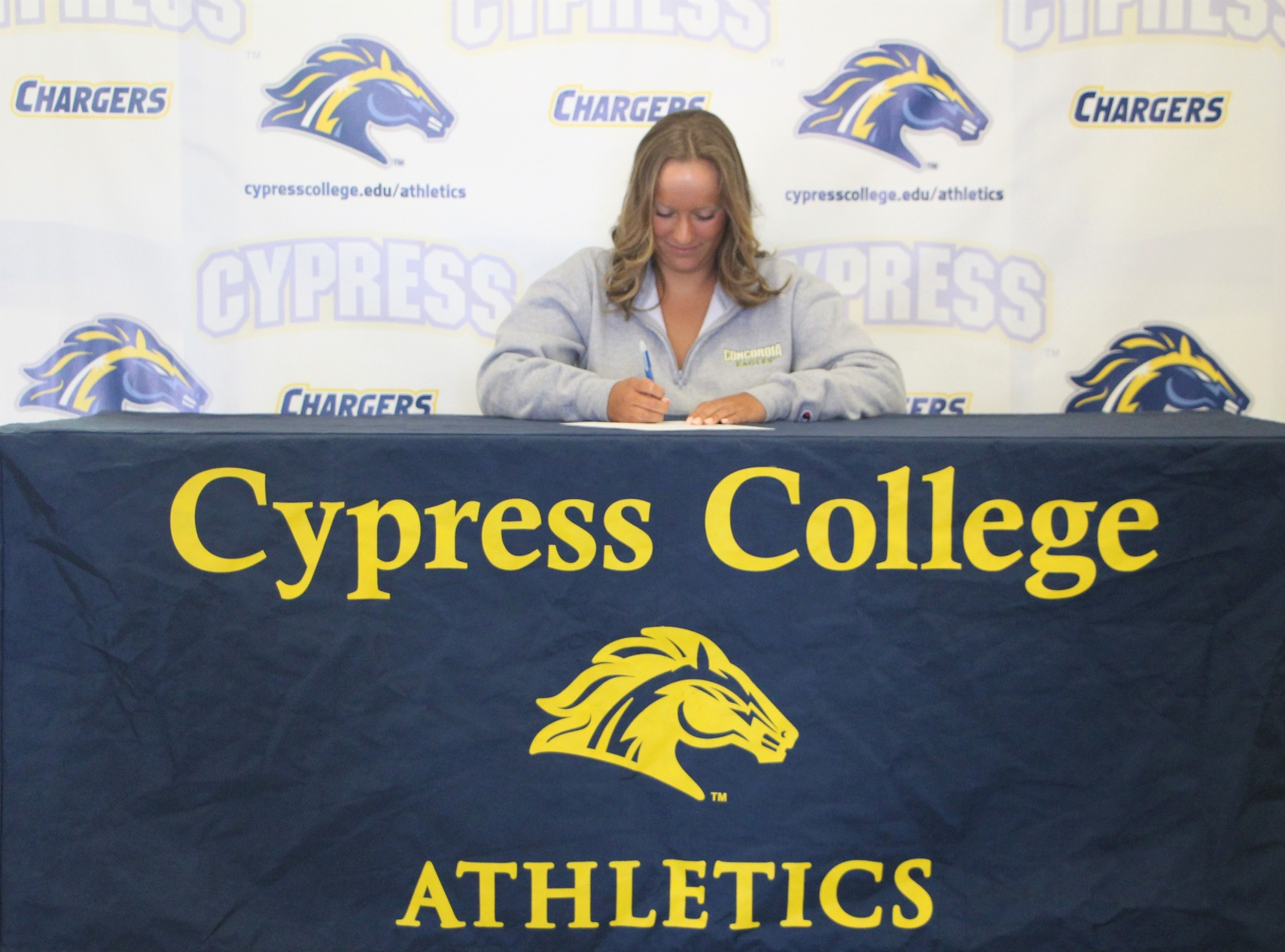 Swimmer Kayleen Bretz Accepts Offer from Concordia University Irvine