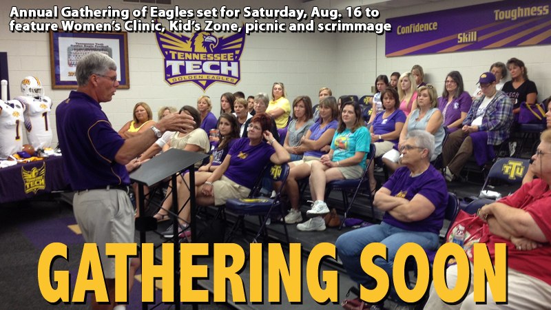 Women's Clinic, Kid's Zone featured in annual Gathering of Eagles